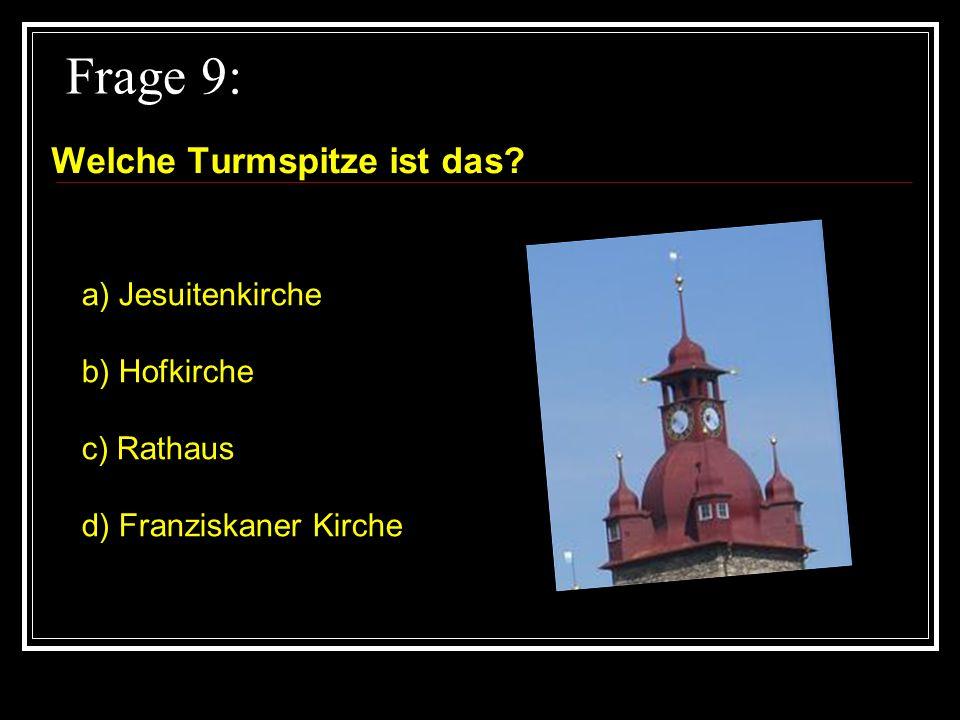 Frage 8: Von wem kam die Idee des Löwendenkmals? a) Lukas Ahorn b) Carl Pfyffer c) Bertel Thorvalden d) Mark Twain