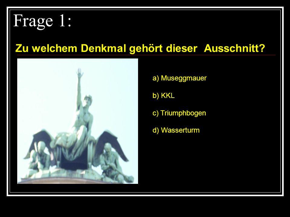 Frage 11: Wann war das erste Meeting im Rathaus.