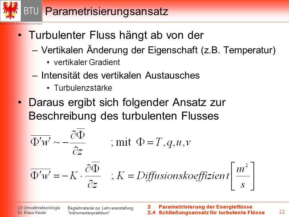 LS Umweltmeteorologie Dr.