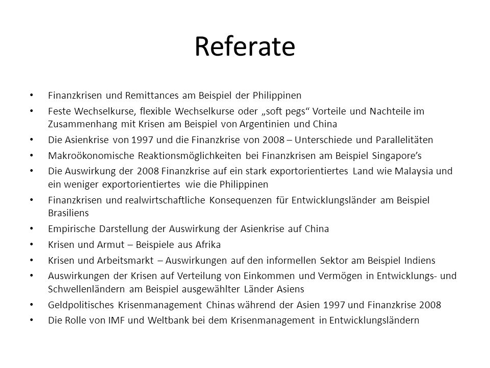 Referate Präsentation Powerpoint Paper (ca.