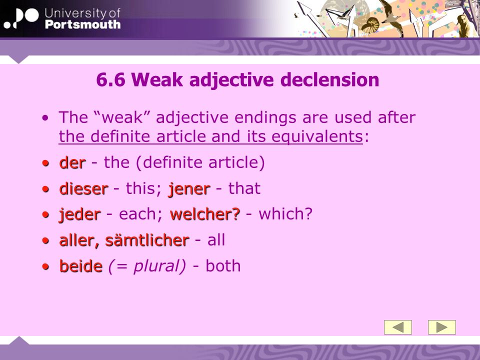 6.37…or adverb + adjective.