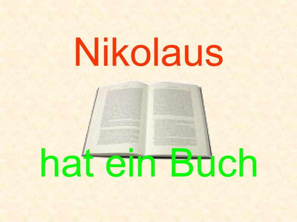 Nikolaus hat ein Buch