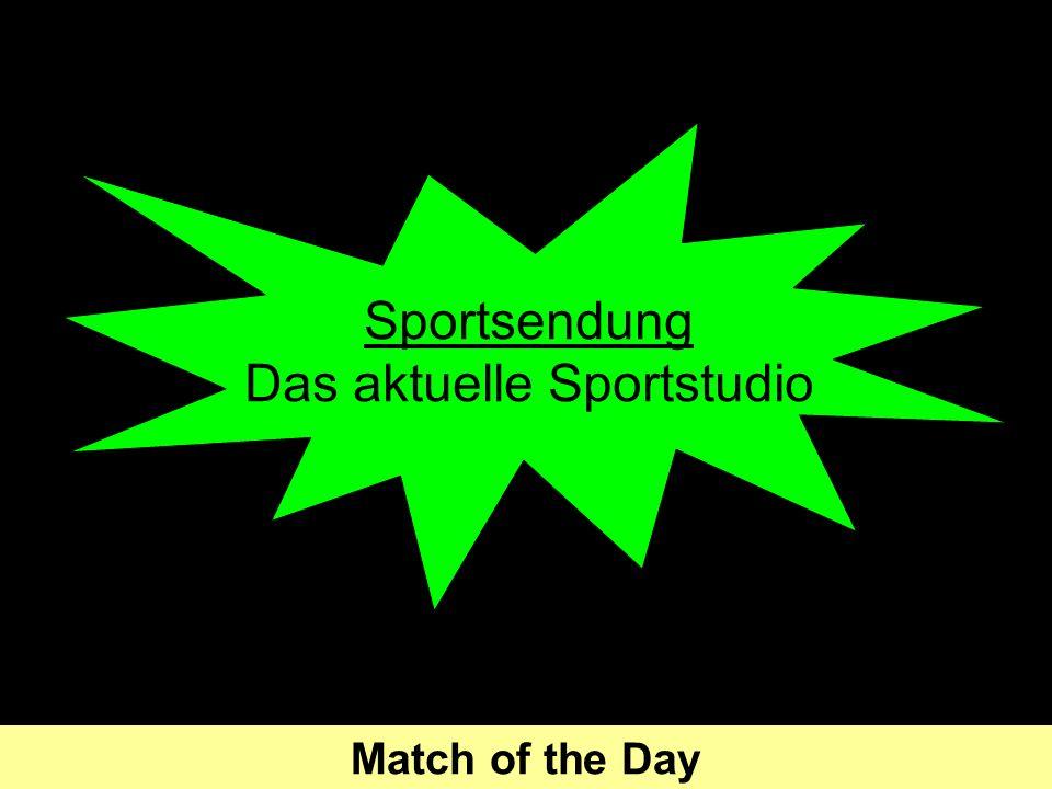 Sportsendung Das aktuelle Sportstudio Match of the Day