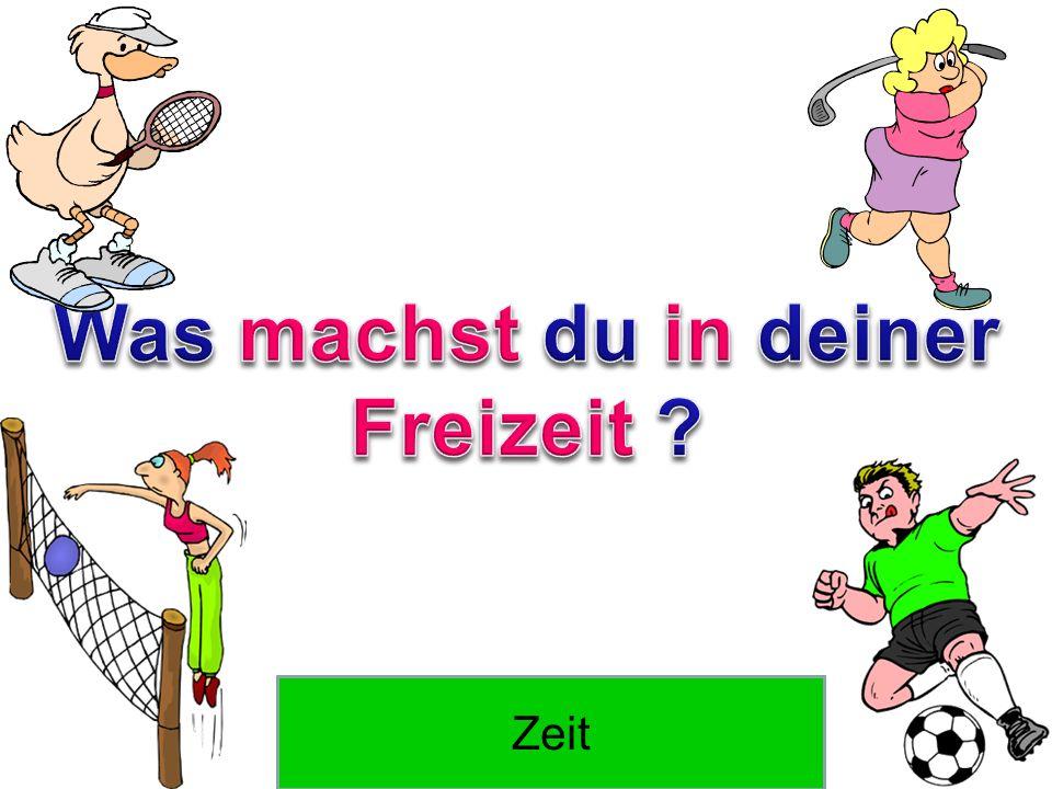 Wie sagt man free time auf Deutsch? Freizeit Wie sagt man time auf Deutsch? Zeit