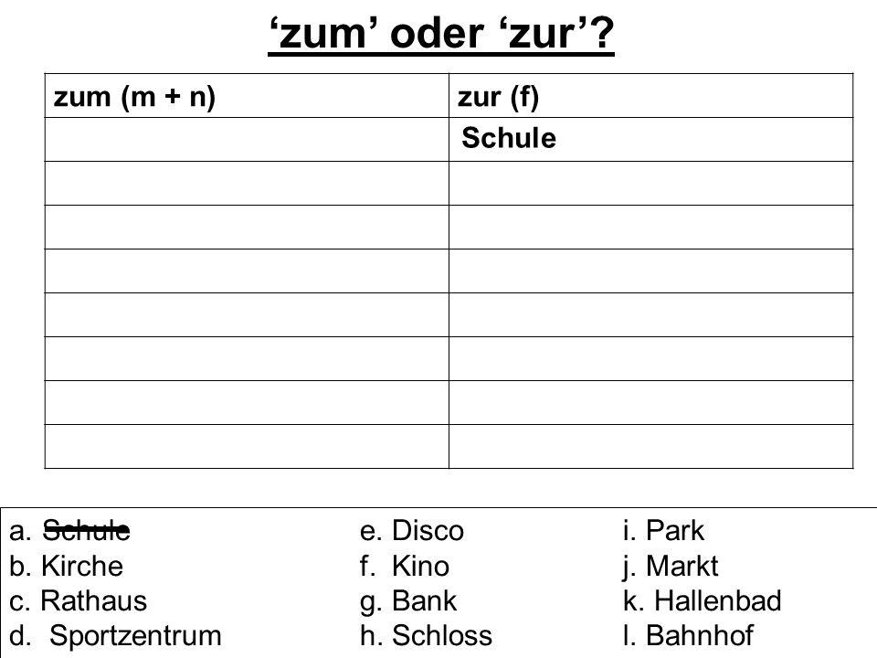 Hallo. Ich heiße Selena und ich wohne am Stadtrand von einer kleinen Stadt namens Lübeck.
