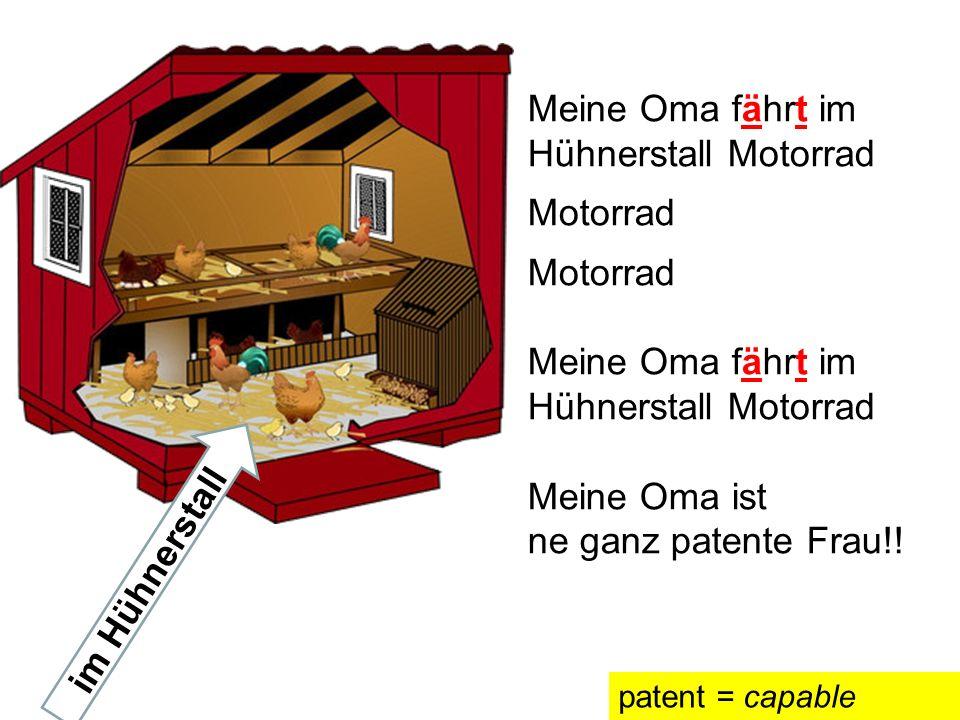Auf der nächsten Seite hörst du ein Lied. Deutsche Kinder singen das Lied und sie schreiben auch neue Texte. Kannst du einen neuen Text schreiben?