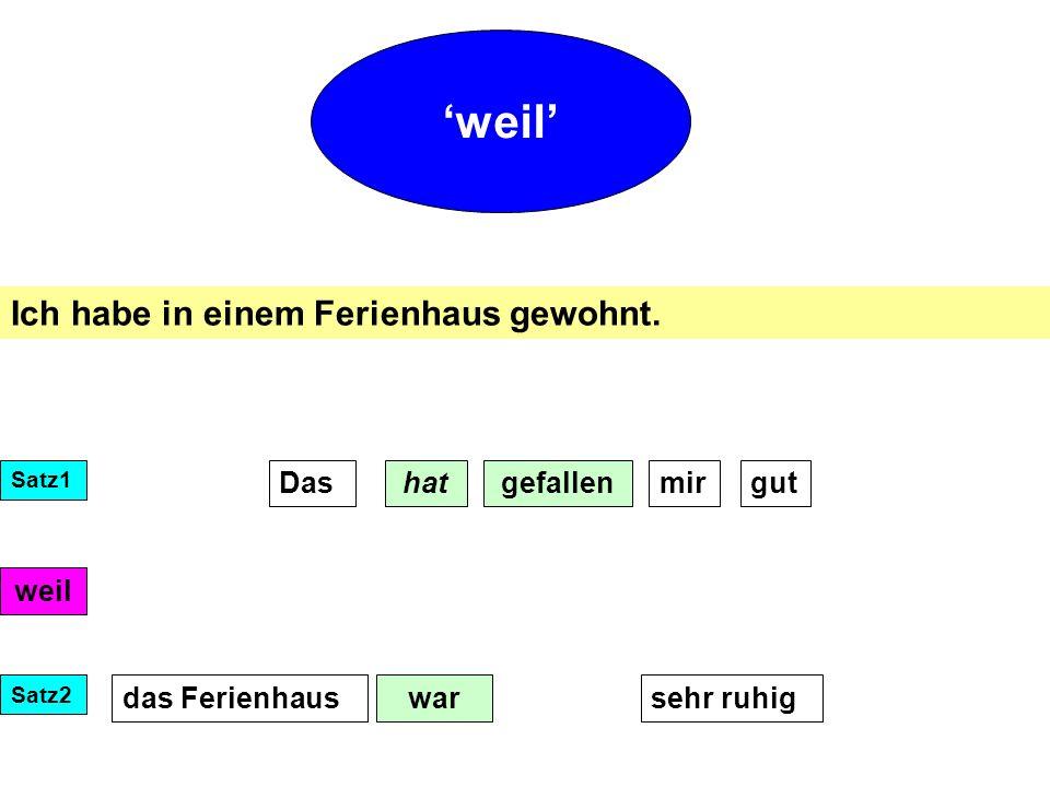 Im Wörterbuch: Finde die deutschen Adjektive: Das Hotel war...