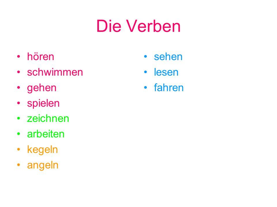 Deutsch ist faszinierend.Deutsch hat..