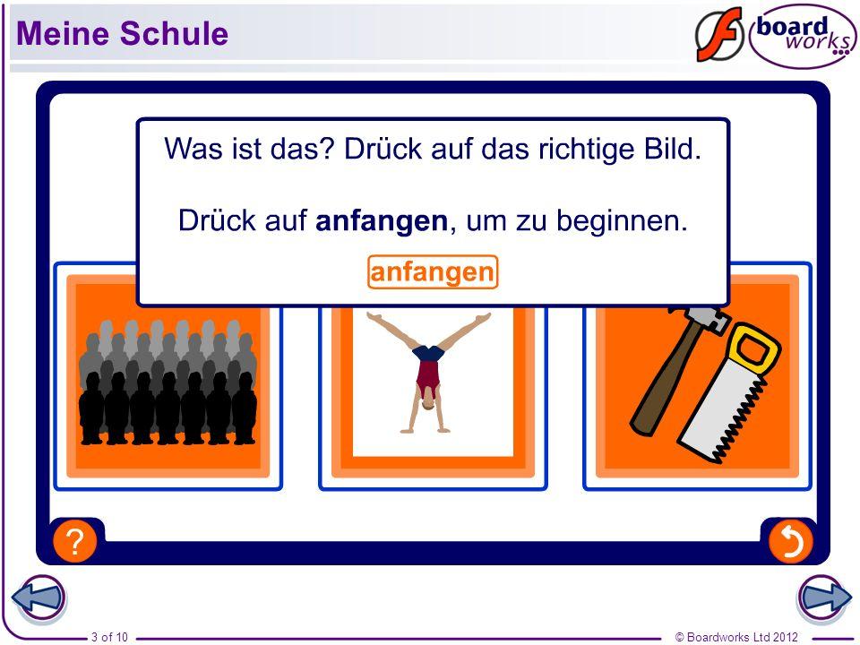 © Boardworks Ltd 20123 of 10 Meine Schule