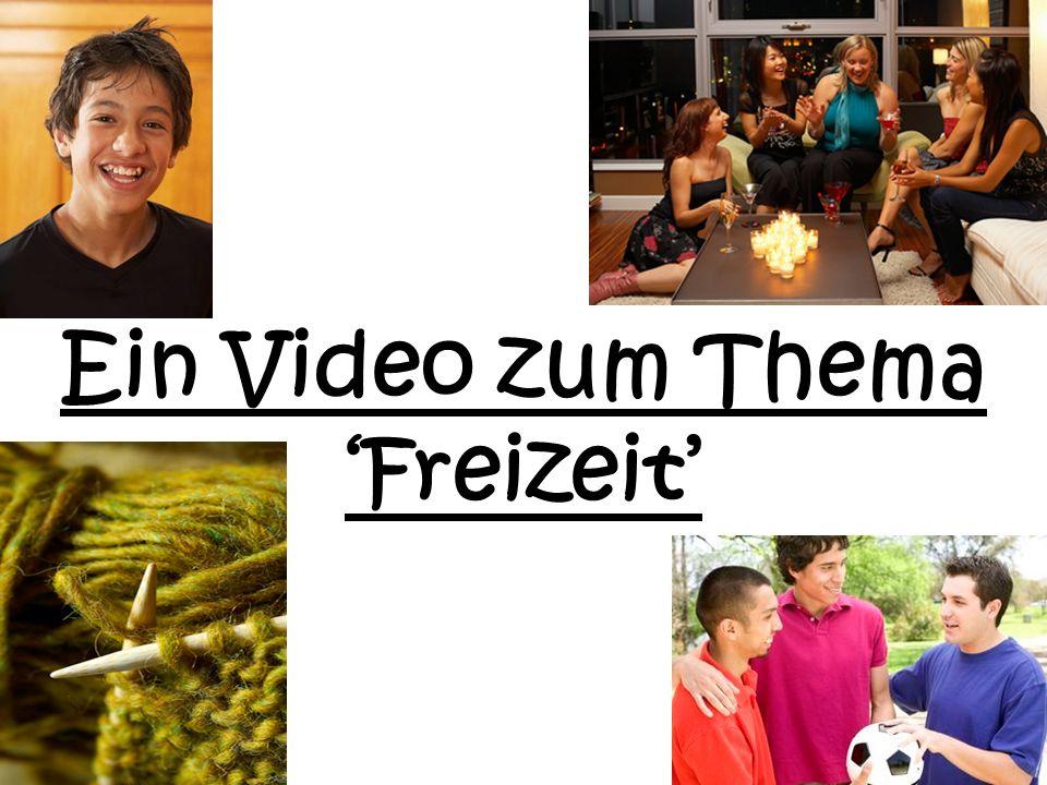Ein Video zum Thema Freizeit