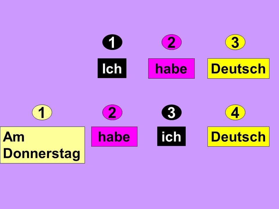 Mon- tag Dien- stag Mitt- woch Donner- stag 1. 2. 3. 4. 5. Freitag