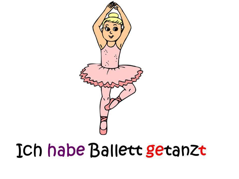 Ich habe eine Tanzstunde gehabt