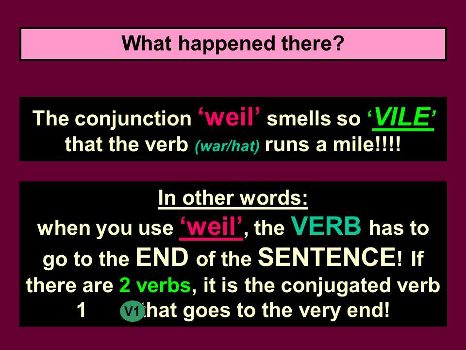 weil Sätze Holland hat mir nicht gefallen.