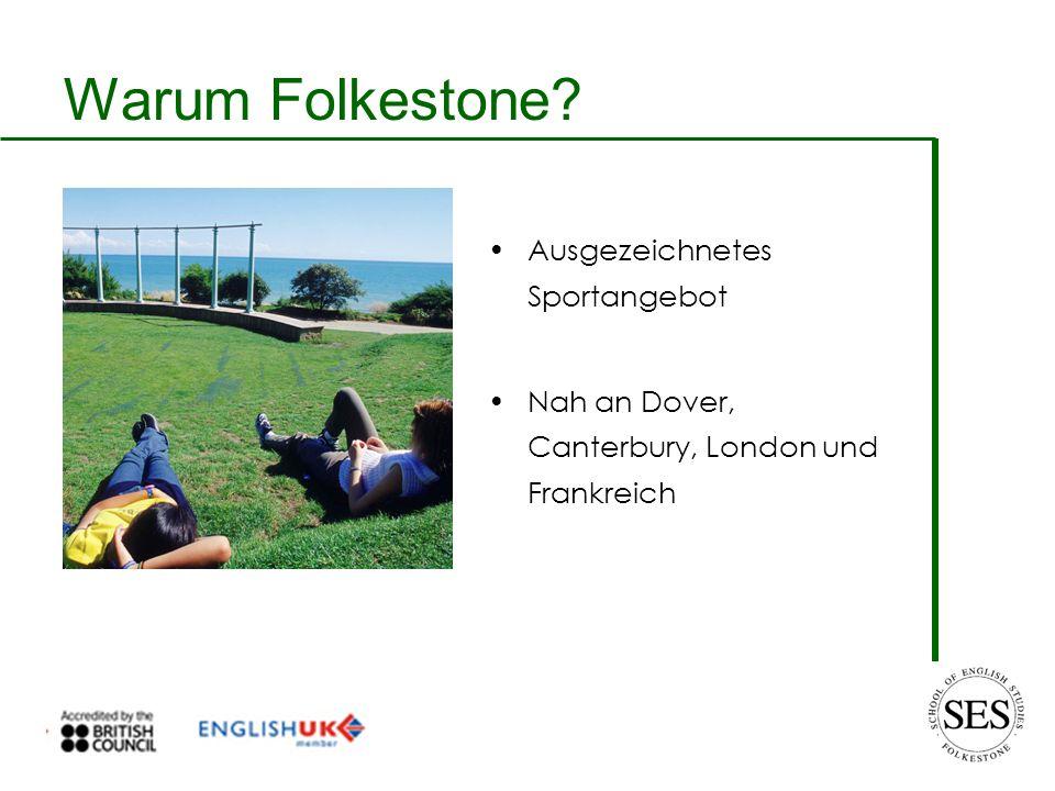 Warum Folkestone Ausgezeichnetes Sportangebot Nah an Dover, Canterbury, London und Frankreich
