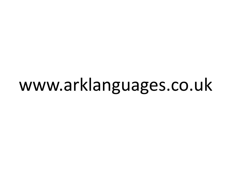 www.arklanguages.co.uk