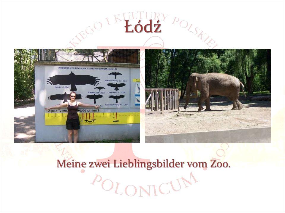 Łódź Meine zwei Lieblingsbilder vom Zoo.