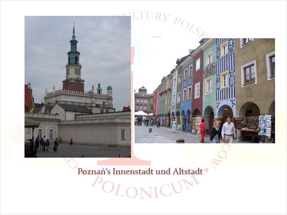 Poznańs Innenstadt und Altstadt