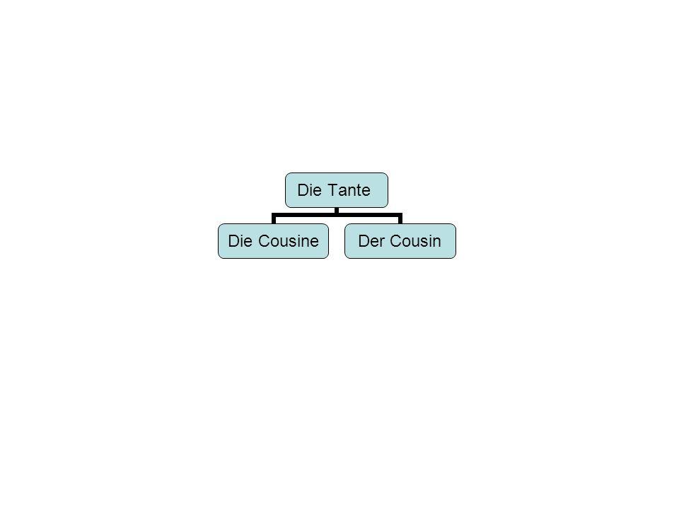 Die Tante Die Cousine Der Cousin