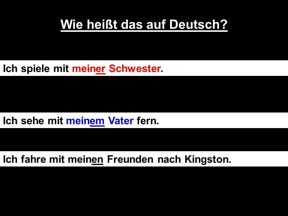IchstreitemichniemitmeinemHalbbruder (I never argue with my half brother)