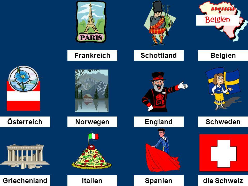 Österreich Ich fahre nach............