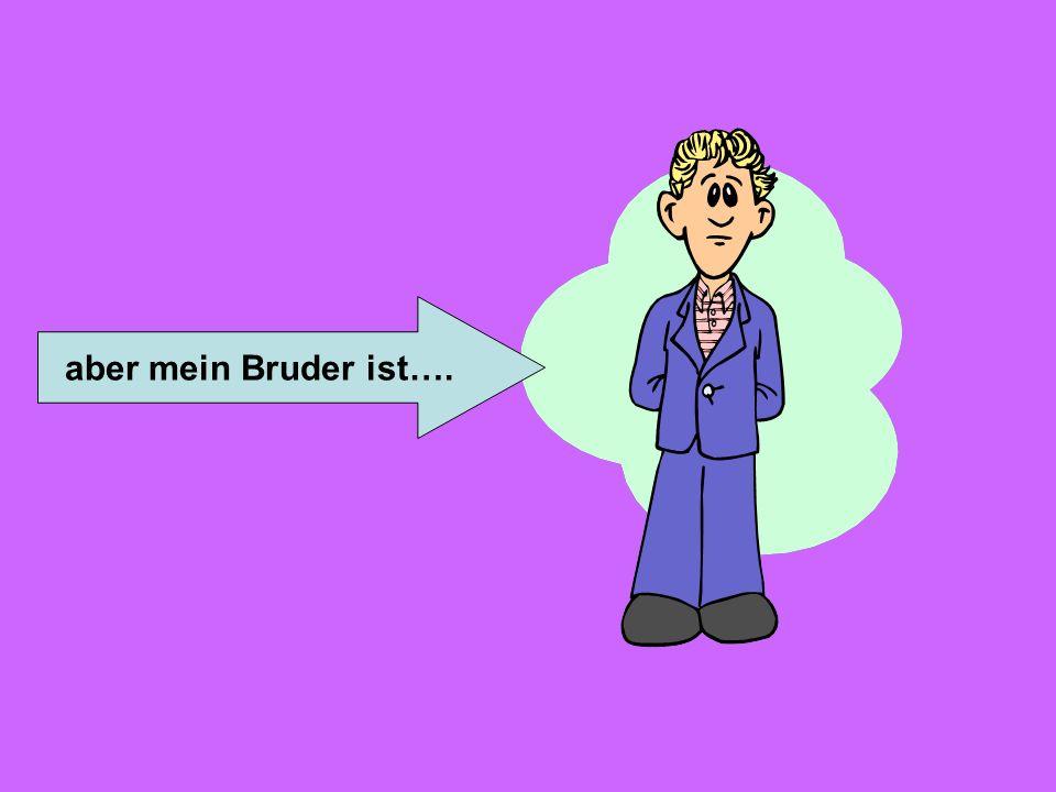 sympathisch (likeable) lustig (funny) selbstbewusst (confident) ehrlich (honest) lieb (dear/sweet) Ich bin geduldig (patient) hilfsbereit (helpful) em