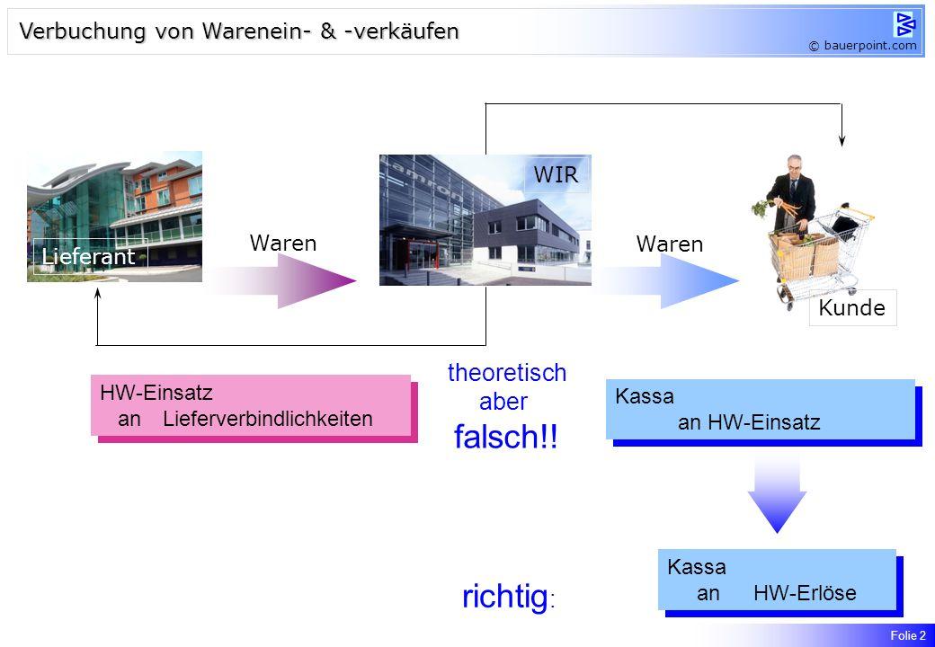 HW-Einsatz anLieferverbindlichkeiten HW-Einsatz anLieferverbindlichkeiten theoretisch aber falsch!.