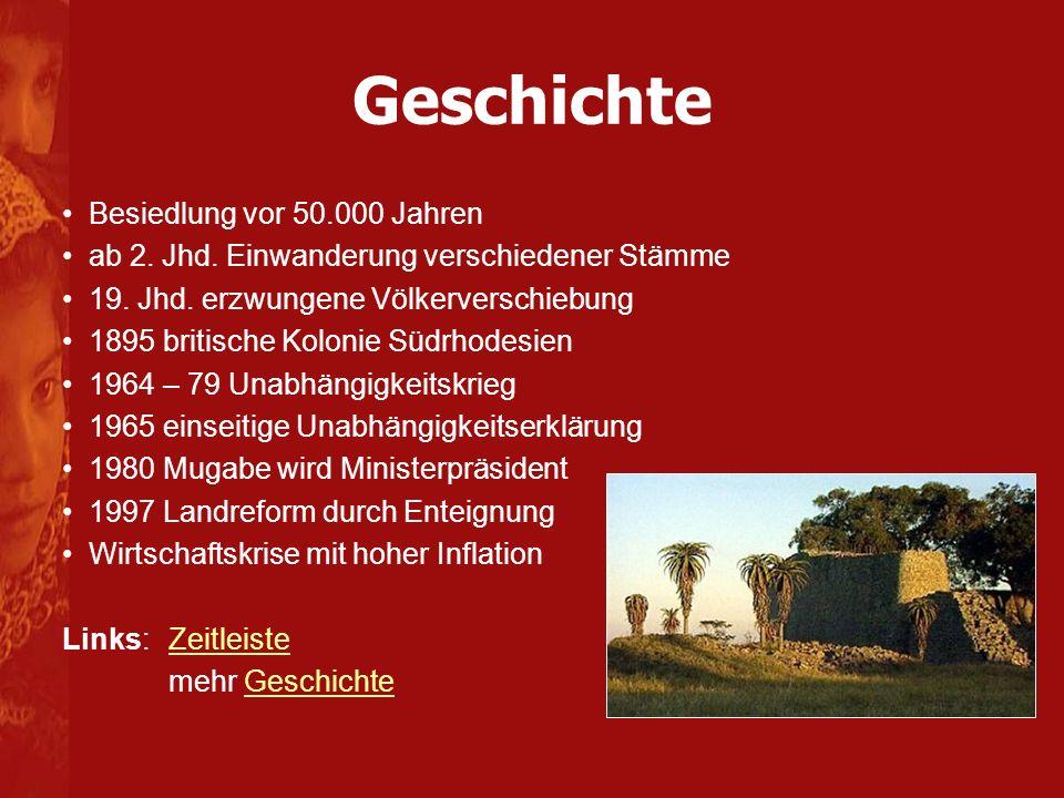 Geschichte Besiedlung vor 50.000 Jahren ab 2.Jhd.