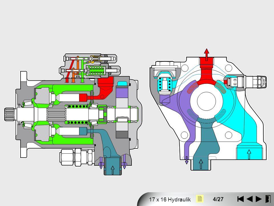 4/27 17 x 16 Hydraulik