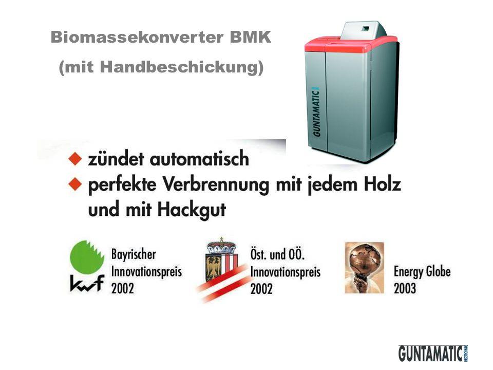 Biomassekonverter BMK (mit Handbeschickung)