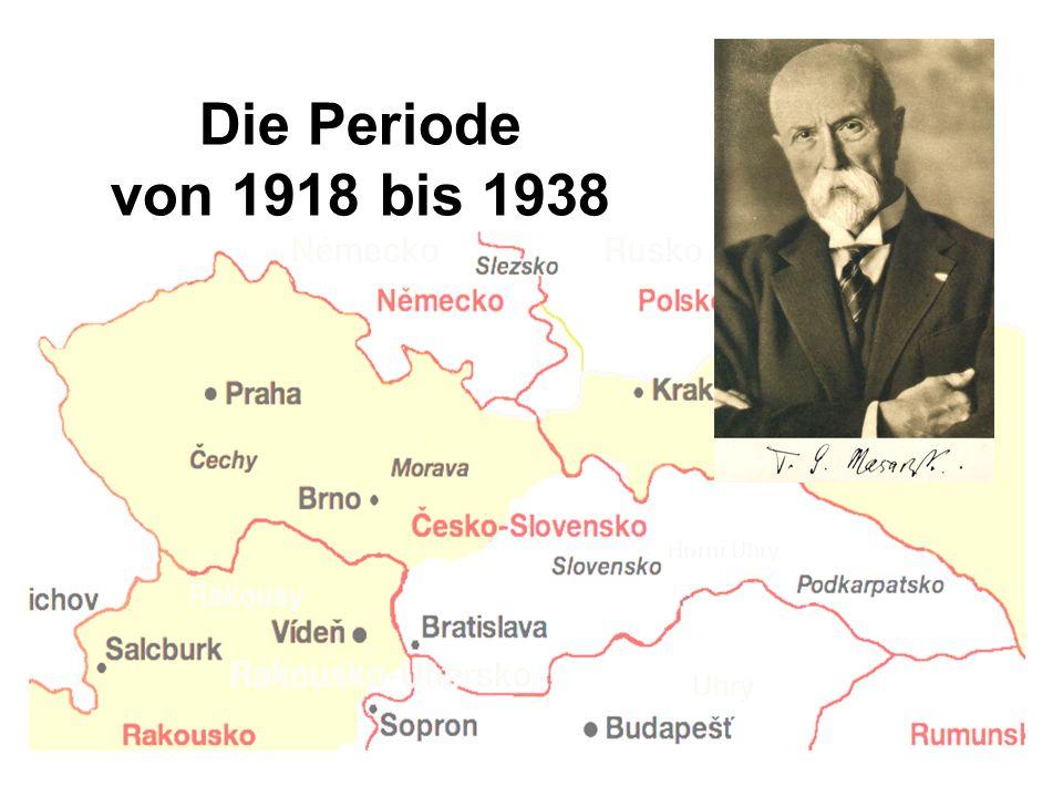 Die Periode von 1918 bis 1938