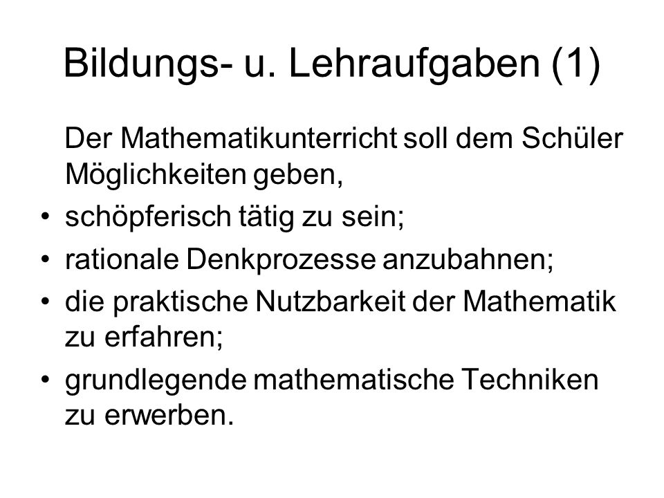 Bildungs- u.