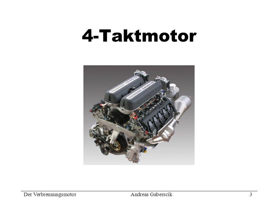 Der VerbrennungsmotorAndreas Gaberscik 14 Funktionsprinzip