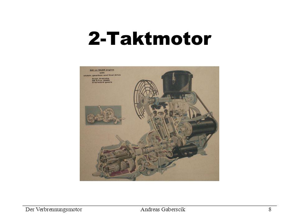 Der VerbrennungsmotorAndreas Gaberscik 9 Funktionsprinzip