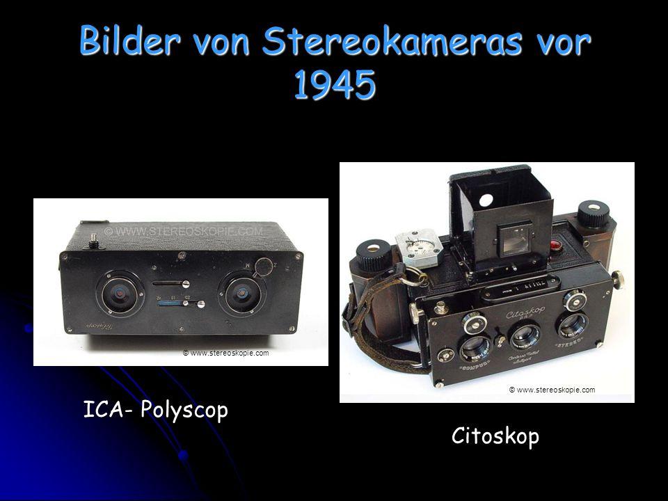 Bilder von Stereokameras vor 1945 ICA- Polyscop Citoskop © www.stereoskopie.com