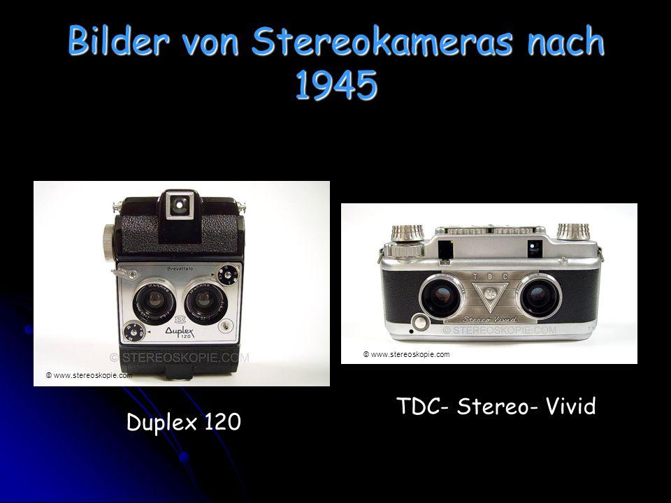 Bilder von Stereokameras nach 1945 Duplex 120 TDC- Stereo- Vivid © www.stereoskopie.com