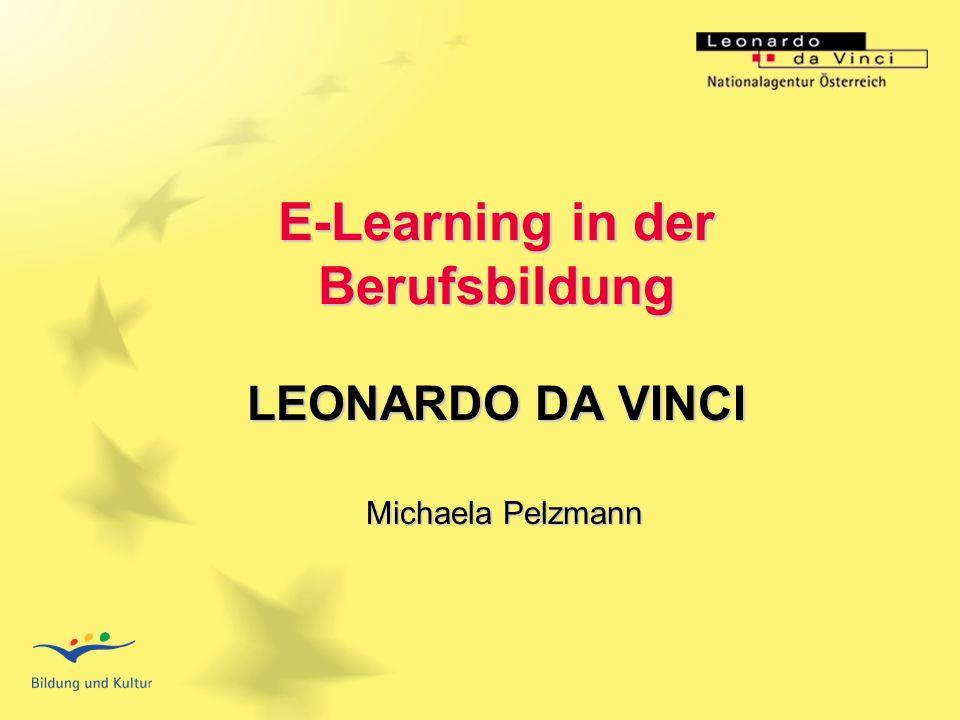 BSO - Österreichische Bundes- Sportorganisation Titel der Veranstaltung E-Learning in der Berufsbildung LEONARDO DA VINCI Michaela Pelzmann