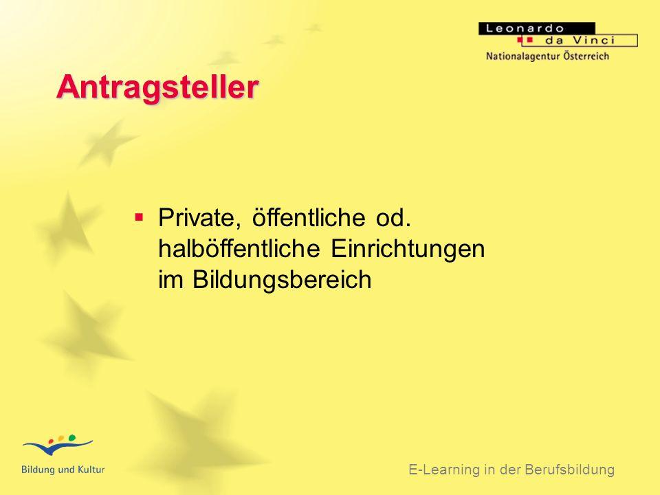 BSO 31.03.2003 Antragsteller Private, öffentliche od.
