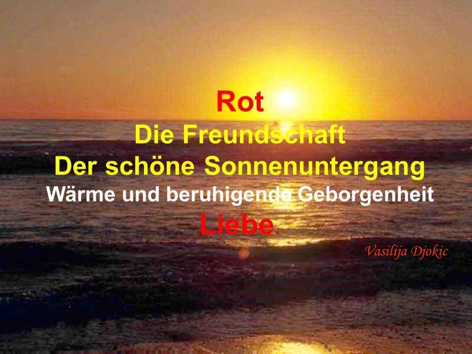 Rot Die Freundschaft Der schöne Sonnenuntergang Wärme und beruhigende Geborgenheit Liebe.