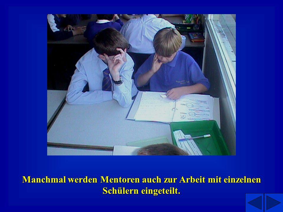Das Projekt in der Anwendung Mentoren treffen ihre Schützlinge 3-5 mal zwischen April und Juli in der Grundschule Grundschule. Ein kompletter Tag wird