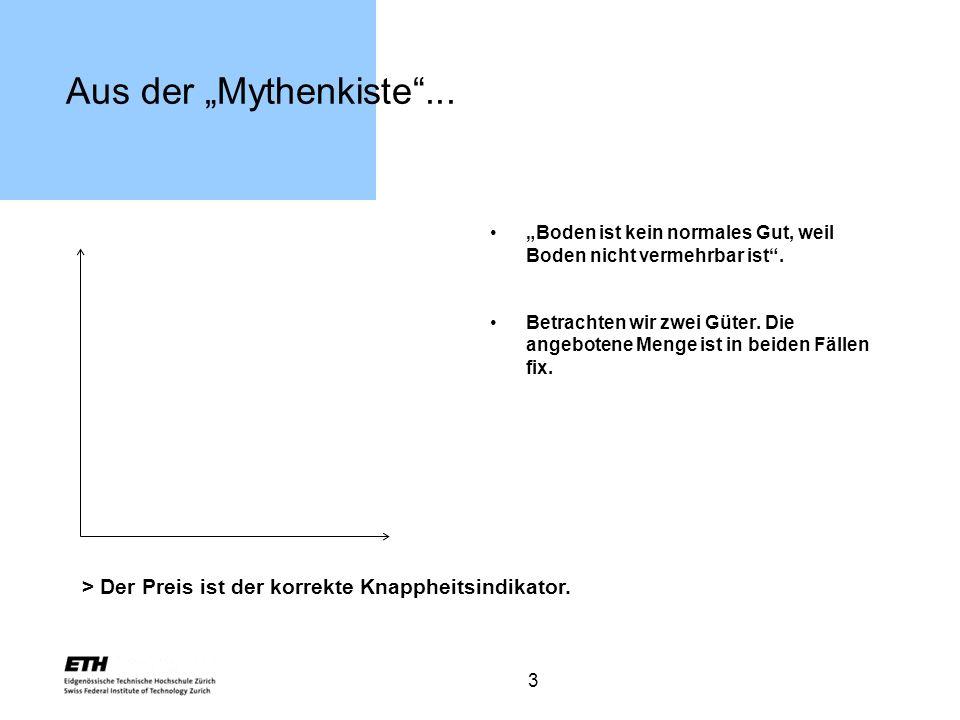 4 Die Fakten: steter Verstädterungsprozess Steter Verstädterungsprozess in der Schweiz.