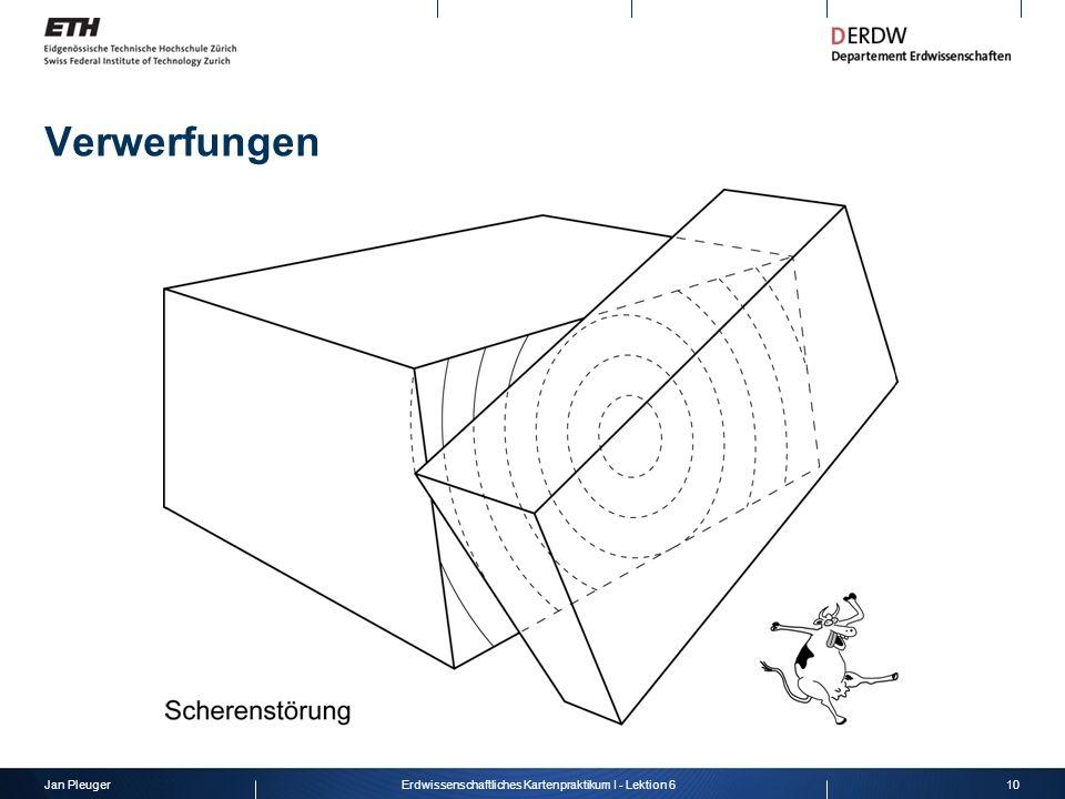 Jan Pleuger10Erdwissenschaftliches Kartenpraktikum I - Lektion 6 Verwerfungen