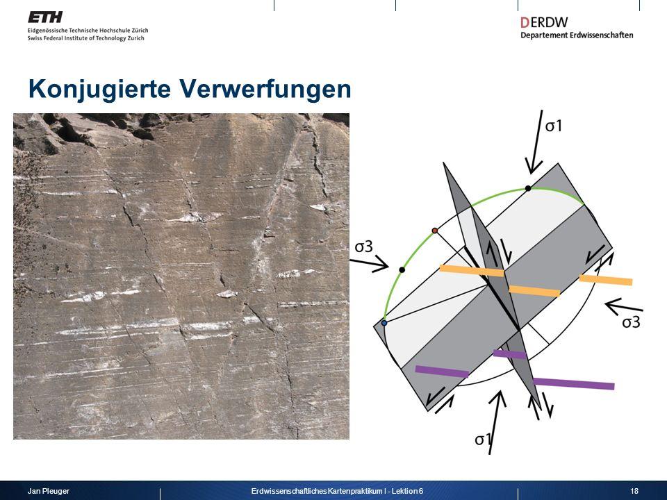 Jan Pleuger18Erdwissenschaftliches Kartenpraktikum I - Lektion 6 Konjugierte Verwerfungen