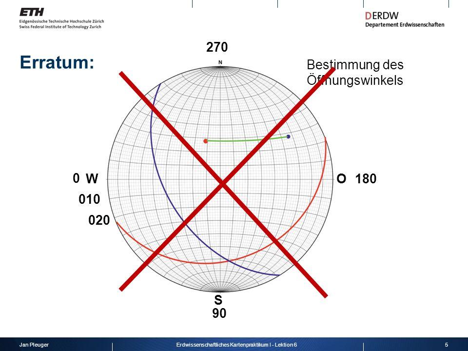 Jan Pleuger16Erdwissenschaftliches Kartenpraktikum I - Lektion 6 listrische Verwerfungen