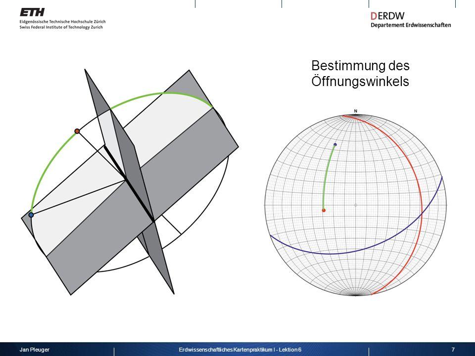 Jan Pleuger8Erdwissenschaftliches Kartenpraktikum I - Lektion 6 Verwerfungen