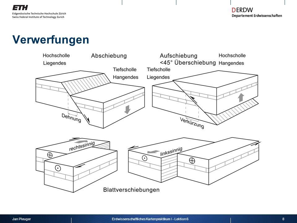 Jan Pleuger9Erdwissenschaftliches Kartenpraktikum I - Lektion 6 faults