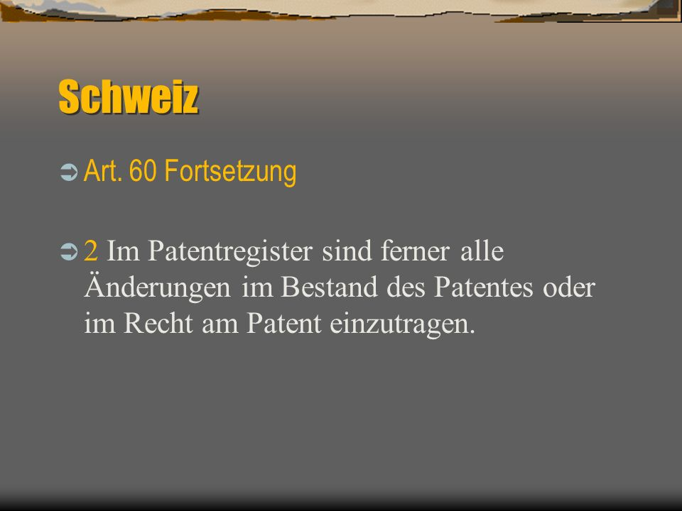 Register des Deutschen Patentamtes https://dpinfo.dpma.de/index.html