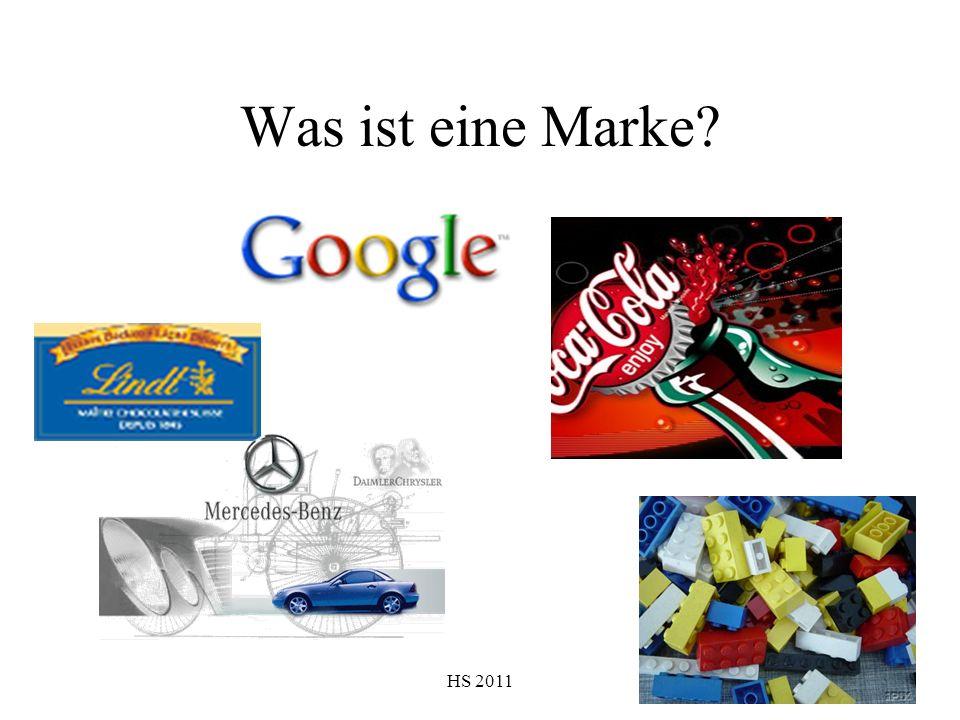 HS 2011 Was ist eine Marke?