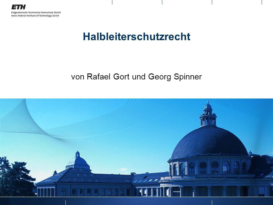 Halbleiterschutzrecht von Rafael Gort und Georg Spinner