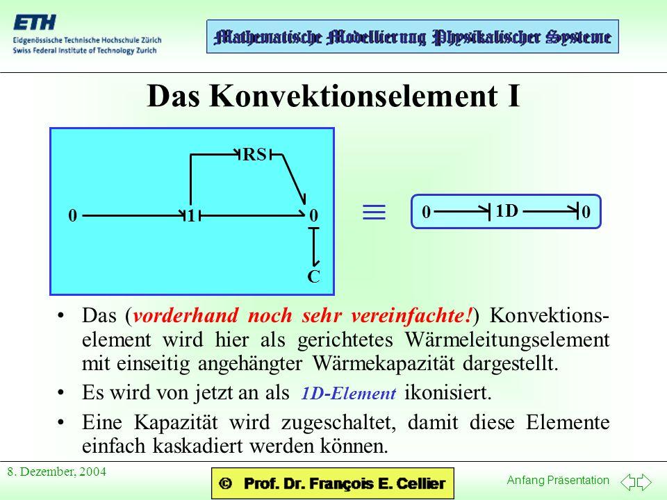 Anfang Präsentation 8.