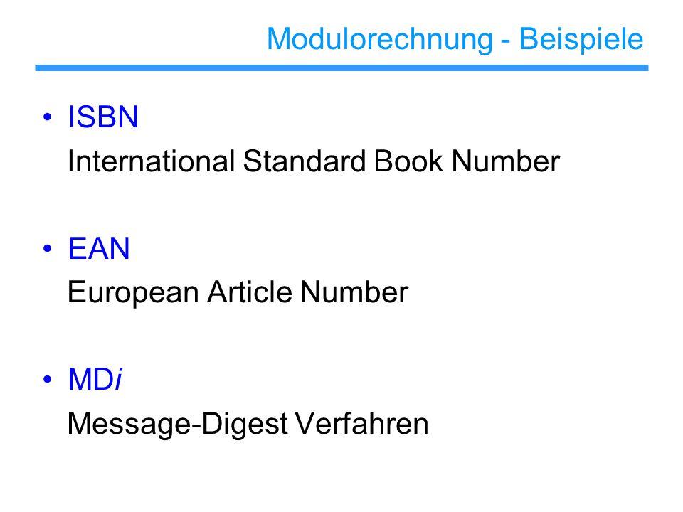 ISBN 10 – stellige Nummer, bestehend aus einem Länder- bzw.